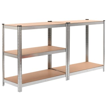 Storage Shelf Silver 2 pcs[2/7]
