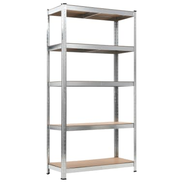 Storage Shelf Silver 2 pcs[4/7]