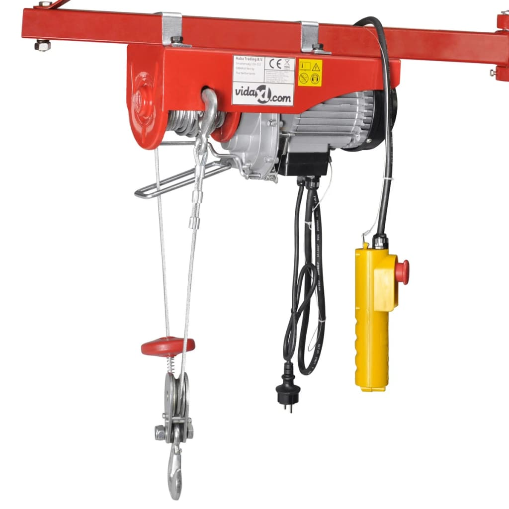Troliu electric 1000 W 300/600 kg imagine vidaxl.ro