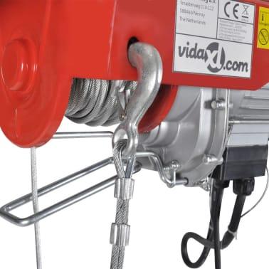 vidaXL Elektrisk vinsch 1000 W 300/600 kg[4/6]