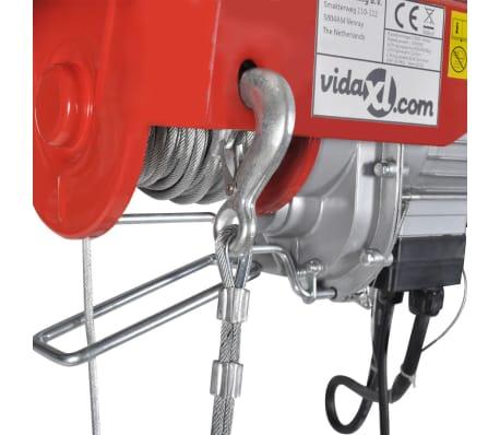 Elektrischer Seilhebezug 1300 W 400/800 kg[4/6]