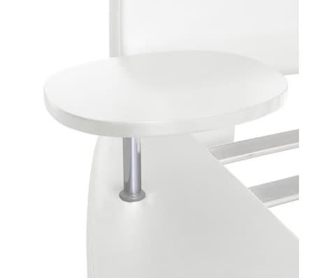 vidaxl rundbett kunstleder polsterbett doppelbett mit. Black Bedroom Furniture Sets. Home Design Ideas
