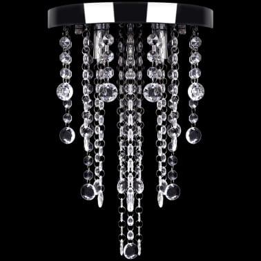 Hängelampe edle Deckenlampe mit transparenten Kristallperlen[4/7]