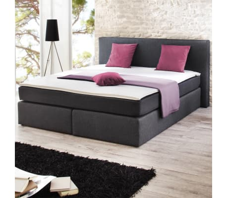 boxspringbett mit matratze 200 x 180 cm g nstig kaufen. Black Bedroom Furniture Sets. Home Design Ideas