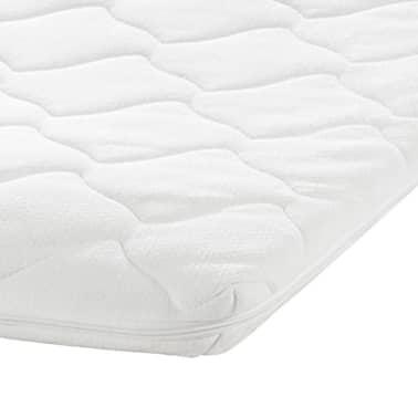 memory foam matratze mit waschbarem bezug 200 x 90 x 7 cm zum schn ppchenpreis. Black Bedroom Furniture Sets. Home Design Ideas
