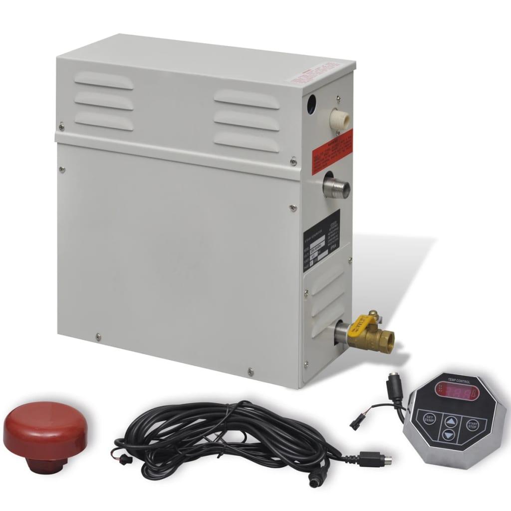 Vyvíječ páry pro parní lázně 4,5 kW s externím regulátorem