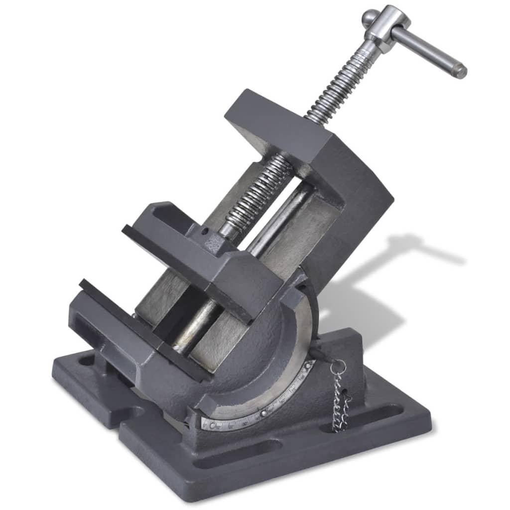 vidaXL Bankschroef kantelbaar handmatig 110 mm