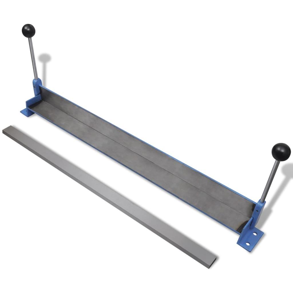 Manuaalne terasplaadi painutuspress 760 mm