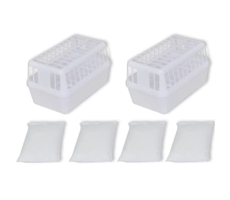 vidaXL Plastikiniai deskanto krepšiai, 2 vnt. su 4 kg Kalcio Chlorido[1/4]
