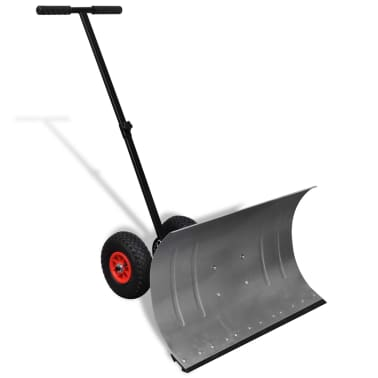 Manual Snow Shovel with Wheels[1/5]