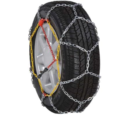 Chaînes de neige pour roue voiture 2 pcs 12 mm KN 70[2/7]