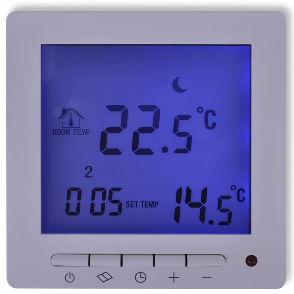 Programovatelný digitální termostat podlahové vytápění + kabel čidla