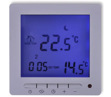 digitaler thermostat mit sensorkabel f r bodenheizung g nstig kaufen. Black Bedroom Furniture Sets. Home Design Ideas