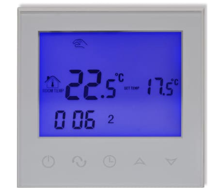 acheter thermostat programmable cran tactile pour. Black Bedroom Furniture Sets. Home Design Ideas