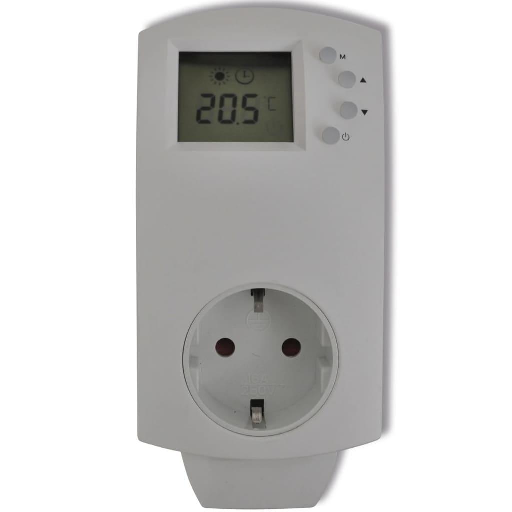 Zásuvný elektronický digitální termostat pro vytápění