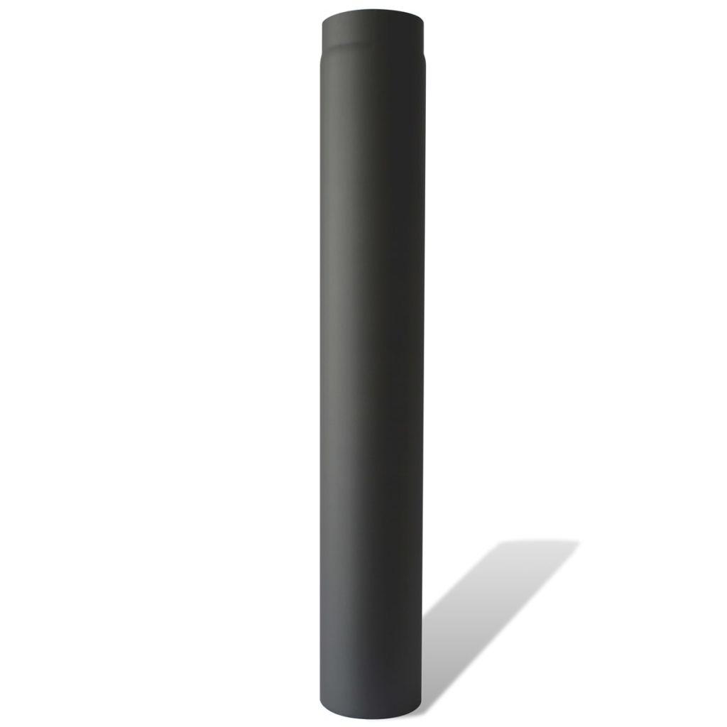 Kouřovod pro kamna na tuhá paliva - trubka rovná 100 cm