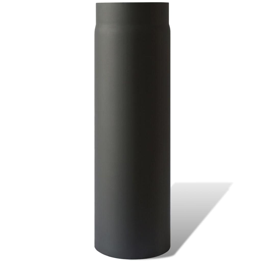 Kouřovod pro kamna na tuhá paliva - trubka rovná 50 cm