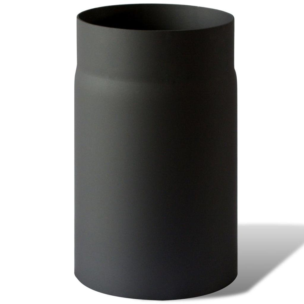 Kouřovod pro kamna na tuhá paliva - trubka rovná 25 cm