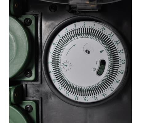 steckdose im stein gartensteckdose mit timer zum schn ppchenpreis. Black Bedroom Furniture Sets. Home Design Ideas