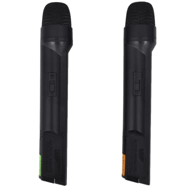 Récepteur avec 2 microphones sans fil VHF[2/6]
