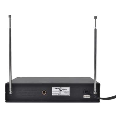 vidaXL Receptor con 2 micrófonos inalámbrico VHF[4/6]