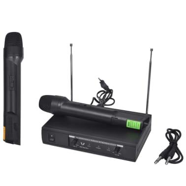 Récepteur avec 2 microphones sans fil VHF[6/6]