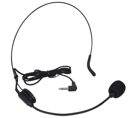 Imtuvas ir 1 Bevielės Ausinės VHF su Mikrofonu[2/4]
