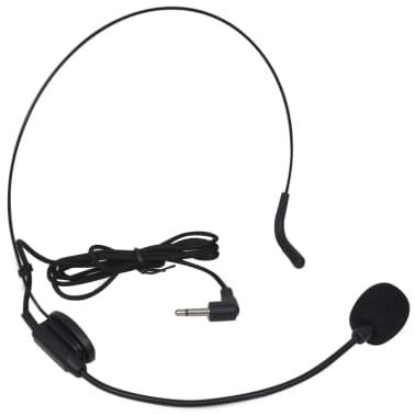 Ontvanger met 1 draadloze microfoon en 1 draadloze koptelefoon VHF[2/4]