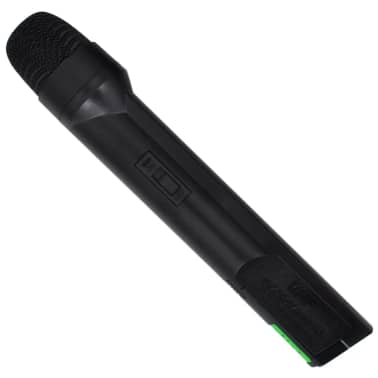 Ontvanger met 1 draadloze microfoon en 1 draadloze koptelefoon VHF[3/4]