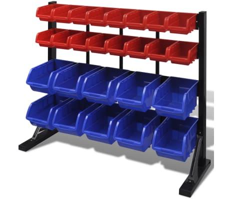 etag re bac bec combinaison murale bleu et rouge. Black Bedroom Furniture Sets. Home Design Ideas