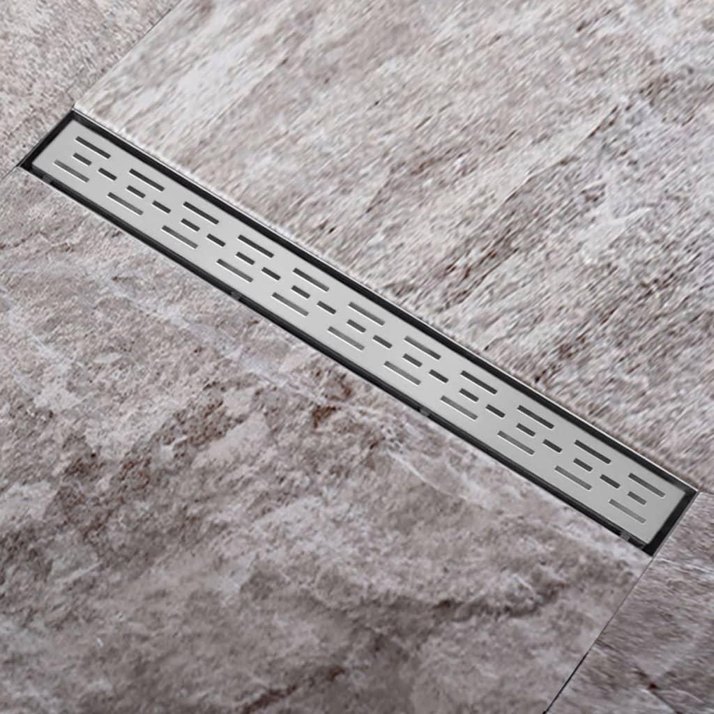 Scurgere pentru duș din oțel inoxidabil 940 x 110 mm poza 2021 vidaXL