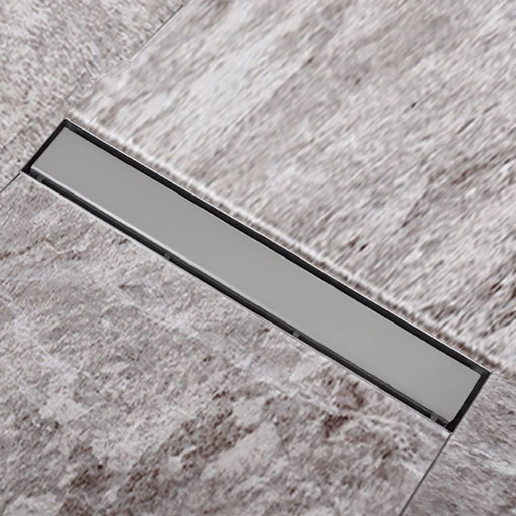 Sprchový podlahový žlab odtokový z nerezové oceli 540 x 110 mm