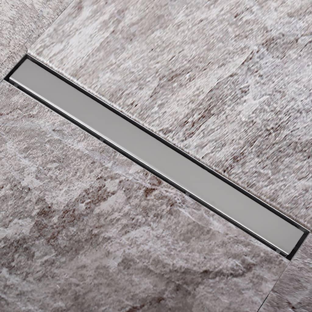 Sprchový podlahový žlab odtokový z nerezové oceli 1040 x 110 mm