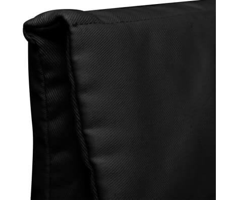 vidaxl sessel mit bugholz rahmen stoff schwarz g nstig kaufen. Black Bedroom Furniture Sets. Home Design Ideas