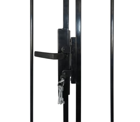 Double Door Fence Gate with Spear Top 13' x 8'[4/6]