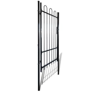 "Fence Gate with Hoop Top (single) 39.4""x68.9""[2/4]"