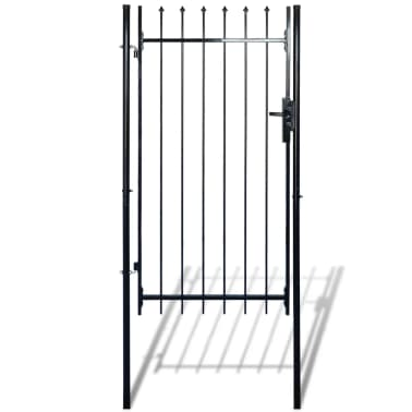 "Fence Gate with Spear Top (single) 39""W x 79""H[1/6]"