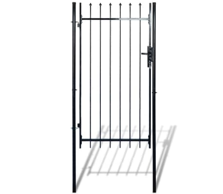 "Fence Gate with Spear Top (single) 39""W x 79""H[3/6]"