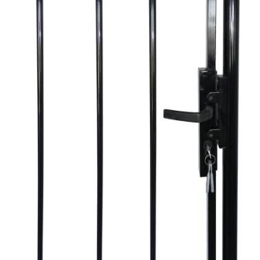 """Fence Gate with Spear Top (single) 39""""W x 79""""H[5/6]"""