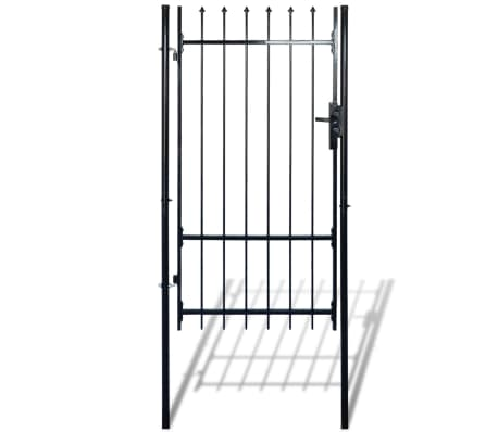 "Fence Gate with Spear Top (single) 39""W x 98""H[3/6]"