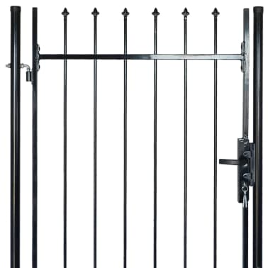 "Fence Gate with Spear Top (single) 39""W x 98""H[4/6]"