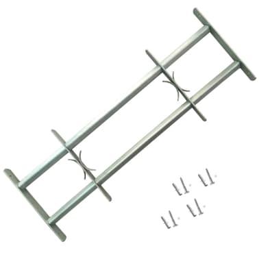Justerbart Fönstergaller för fönster med 2 stänger 500-650 mm[1/4]