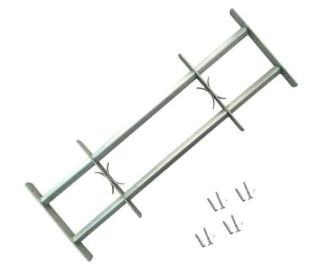 acheter grille de d fense ajustable 2 traverses pour fen tre de 700 1050 mm pas cher. Black Bedroom Furniture Sets. Home Design Ideas