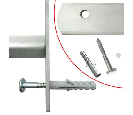 vidaXL Justerbart fönstergaller med 2 stänger 1000-1500 mm[4/4]