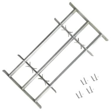 Justerbart Fönstergaller för fönster med 3 stänger 500-650 mm[1/4]