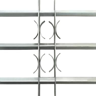 Reguliuojamos Apsauginės Langų Grotos su 3 Skersiniais 700-1050 mm[3/4]