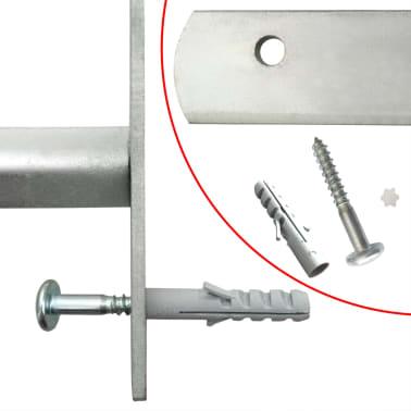 Reguliuojamos Apsauginės Langų Grotos su 4 Skersiniais 700-1050 mm[4/4]