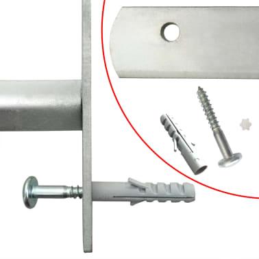 Reguliuojamos Apsauginės Langų Grotos su 4 Skersiniais 1000-1500 mm[4/4]
