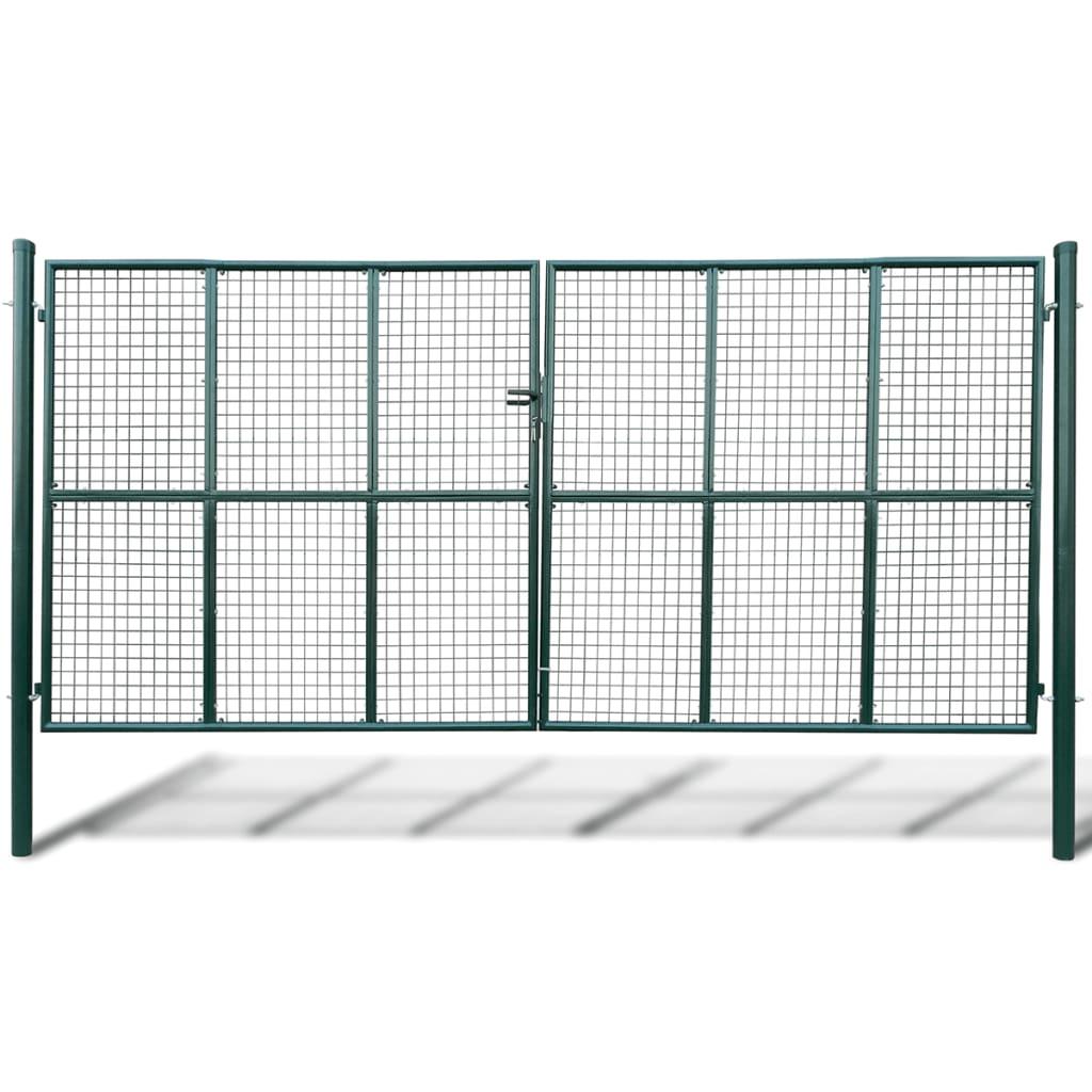 Zahradní brána z pletiva 415 x 250 cm / 400 x 200 cm