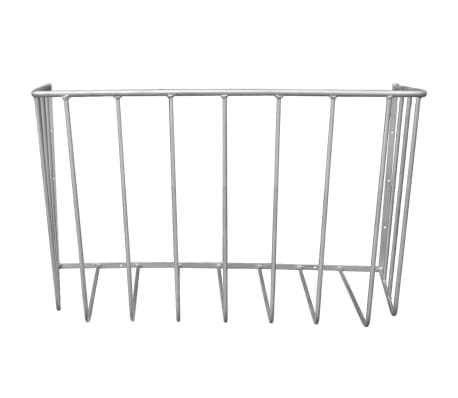 "Wall Mounted Hay Rack 31.5""x17.7""x17.7""[2/3]"